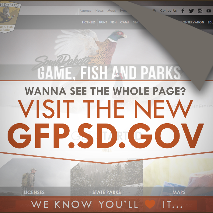 Game, Fish and Parks Unveils New Website