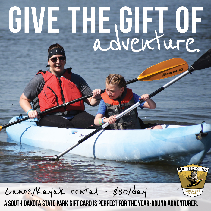 Give the Gift of the Outdoors with State Park Gift Cards